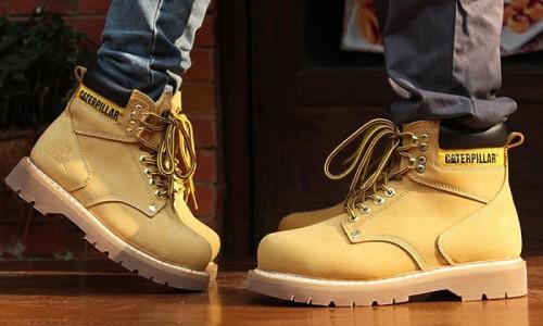 毕业季大黄靴再揭热销潮 CAT工装鞋个性时代来临